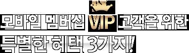 ����� ����� VIP �?�� ���� Ư���� ���� 3����