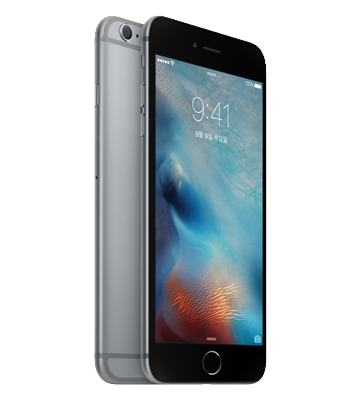 iPhone 6s Space Gray 색상