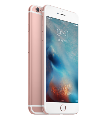 iPhone 6s Rose Gold색상