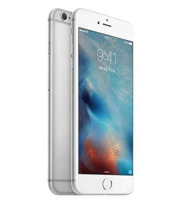 iPhone 6s Silver 색상
