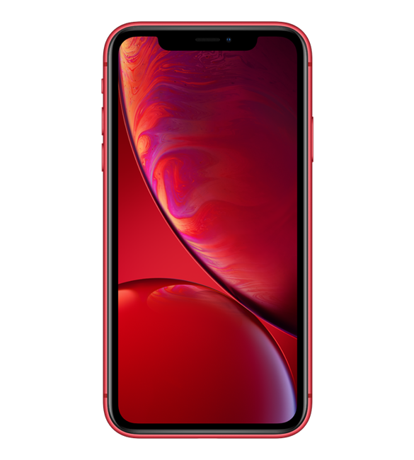 iPhone XR Red 전면