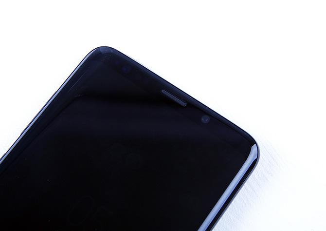 갤럭시 S9+ 전면카메라